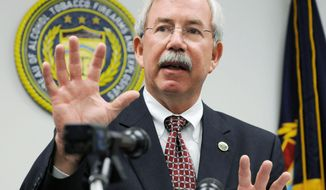 Former Bureau of Alcohol, Tobacco, Firearms and Explosives Acting Director Kenneth Melson, in a private deposition to congressional investigators, suggested the Obama administration's Justice Department knew as early as March 2011 that its Operation Fast and Furious gun-running story was wrong and could have corrected the facts months earlier than it did. (Associated Press)
