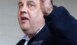 ** FILE ** New Jersey Gov. Chris Christie. (AP Photo/Mel Evans)