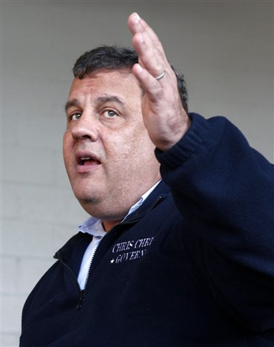 ** FILE ** New Jersey Gov. Chris Christie. (AP Photo/Mel Evans)
