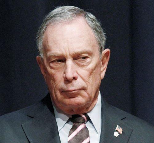 **FILE** New York Mayor Michael R. Bloomberg (Associated Press)