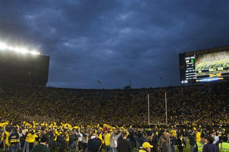 Michigan Stadium (Associated Press)