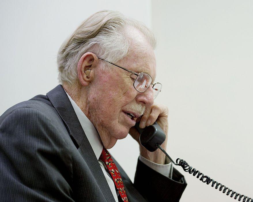 Republican Rep. Roscoe G. Bartlett (Barbara L. Salisbury/The Washington Times)