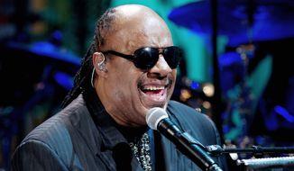 Stevie Wonder (AP photo)