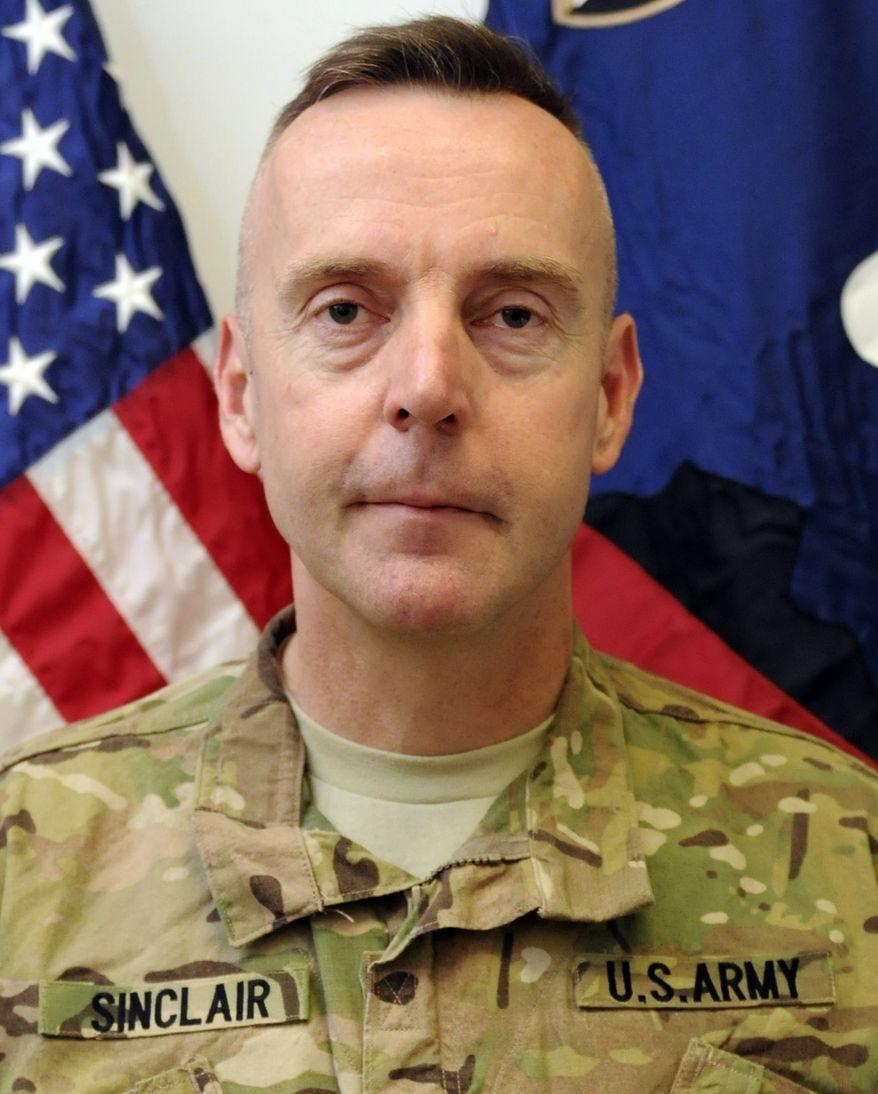 U.S. Army Brig. Gen. Jeffrey Sinclair (AP Photo/U.S. Army)