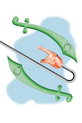 Illustration Islam by Alexander Hunter for The Washington Times