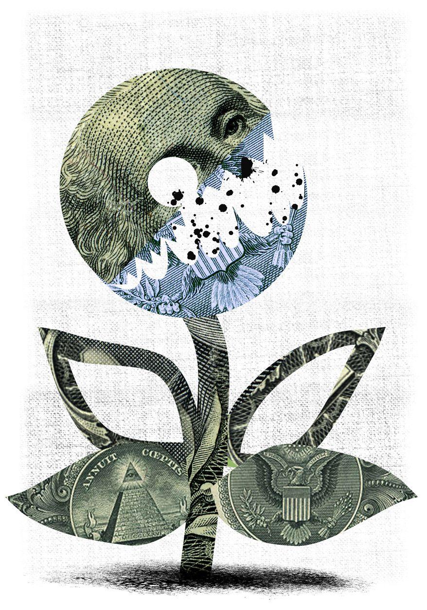 Illustration: EPA by Linas Garsys for The Washington Times