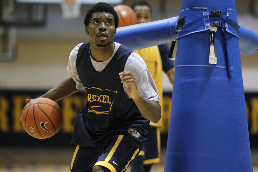 Frantz Massenat averaged 13.7 points, 3.1 rebounds and 4.8 assists for Drexel last year. (Associated Press)