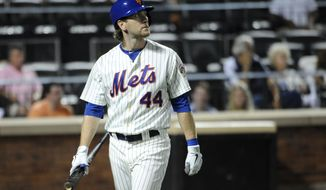 New York Mets and Jason Bay agreed to part ways Wednesday, making the outfielder a free agent. (AP Photo/Kathy Kmonicek)