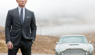 """Daniel Craig again embodies James Bond in the new action film """"Skyfall."""" This time the movie gives some insight into what makes the superspy tick. Director Sam Mendes has not altered Bond so much as found the character's core and polished it up for a modern age. (Sony Pictures via Associated Press)"""