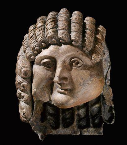 Head of a man, cast bronze, 1st century B.C. to 2nd century A.D. (Photo courtesy Arthur M. Sacker Gallery)