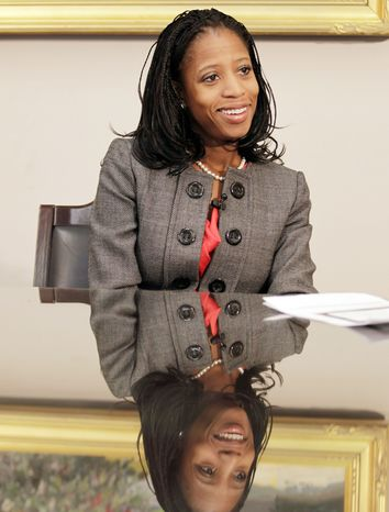 Republican House challenger Mia Love has conceded the race to a Democratic incumbent in the newly drawn 4th Congressional District in Utah, but his 2,600-vote lead is too close to call with provisional and absentee ballots still out. (Associated Press)