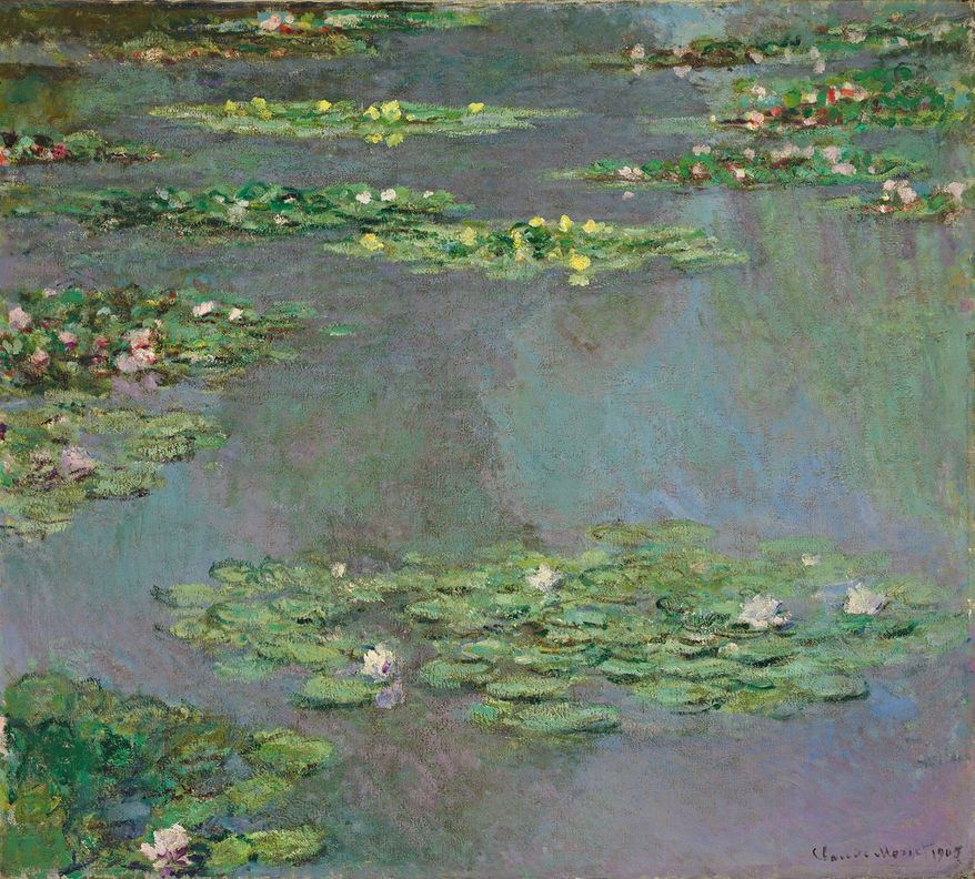 """This image provided by Christie's Images, Ltd, in New York, Friday Nov. 9, 2012, shows a work from Claude Monet's """"Water Lilies"""" series. (Associated Press/Christie's Images Ltd.)"""