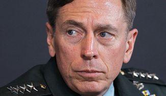 **FILE** Gen. David Petraeus is seen in Washington on March 18, 2011. (Associated Press)
