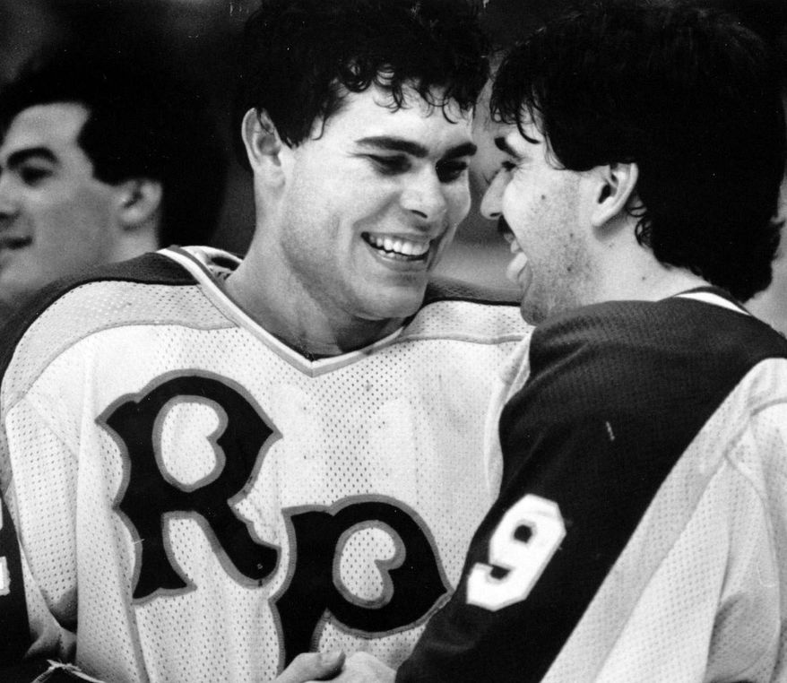 Adam Oates totaled 216 points in 98 games for Rensselaer Polytechnic Institute from 1982 through 1985. He will become the first former RPI player inducted into the Hockey Hall of Fame. (RPI Athletics)