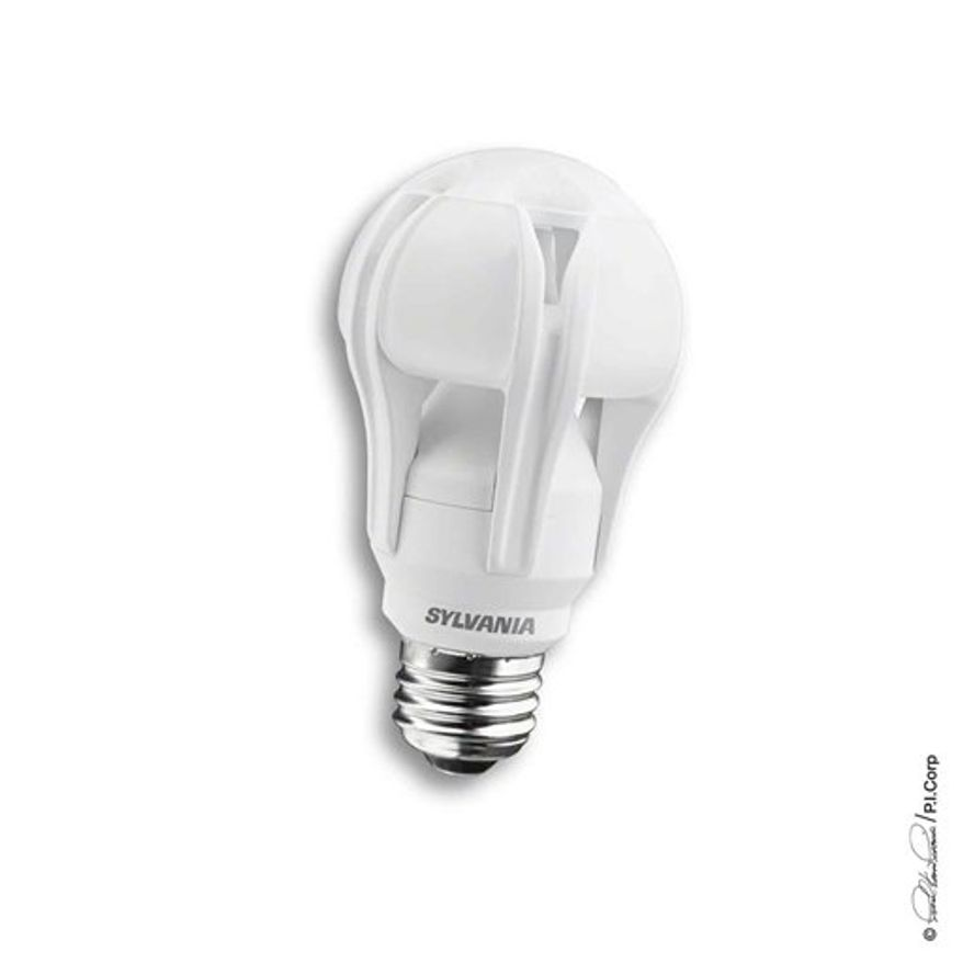 This image provided by Osram Sylvania shows what the company says is the first bulb that uses light-emitting diodes that shine as brightly as regular 100-watt bulbs. The bulbs provide an alternative to compact fluorescents. The federal government banned the production of regular 100-watt bulbs at the start of the year. (AP Photo/Osram Sylvania)