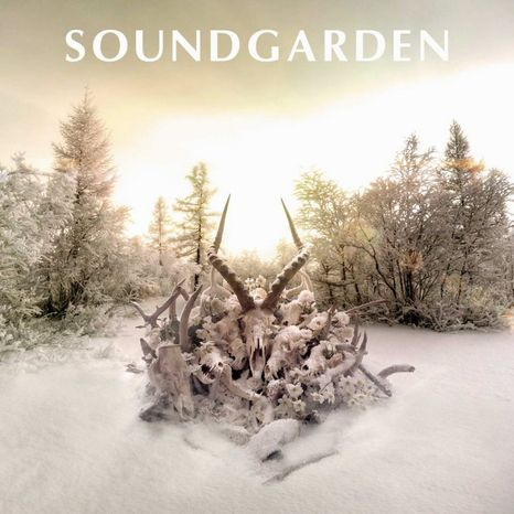 "Album cover for Soundgarden ""King Animal""."