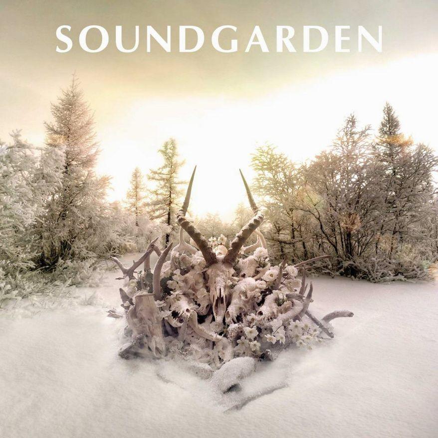 """Album cover for Soundgarden """"King Animal""""."""