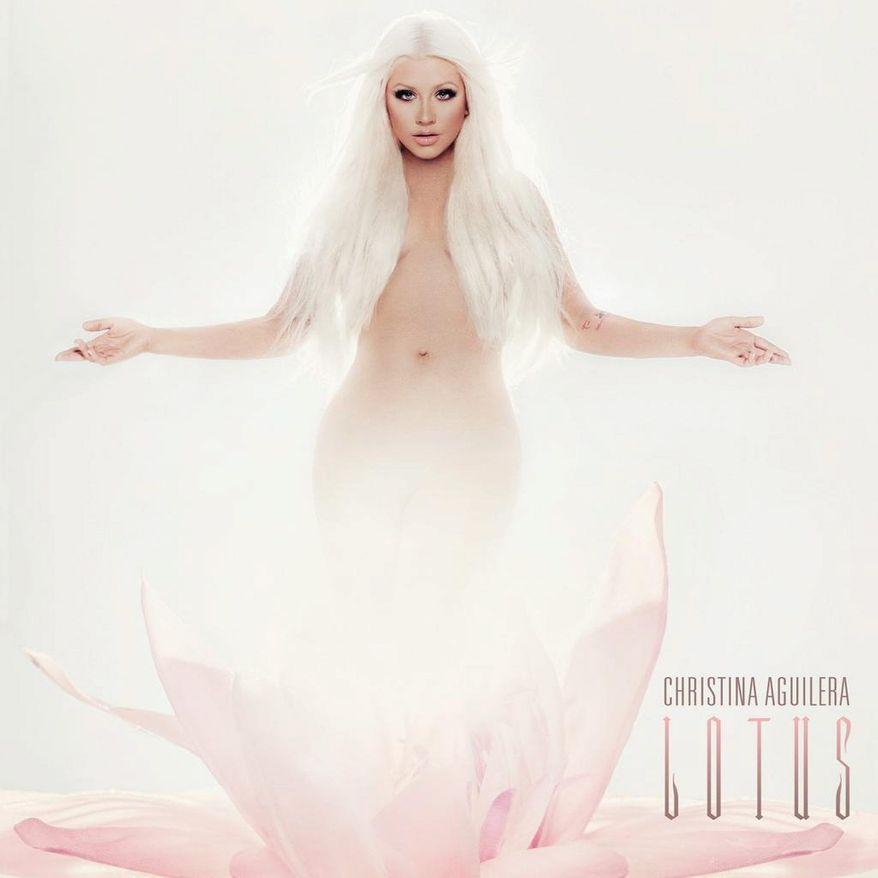 "Album cover for Christina Aguilera ""Lotus""."
