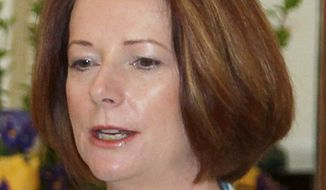Australian Prime Minister Julia Gillard. (Associated Press)