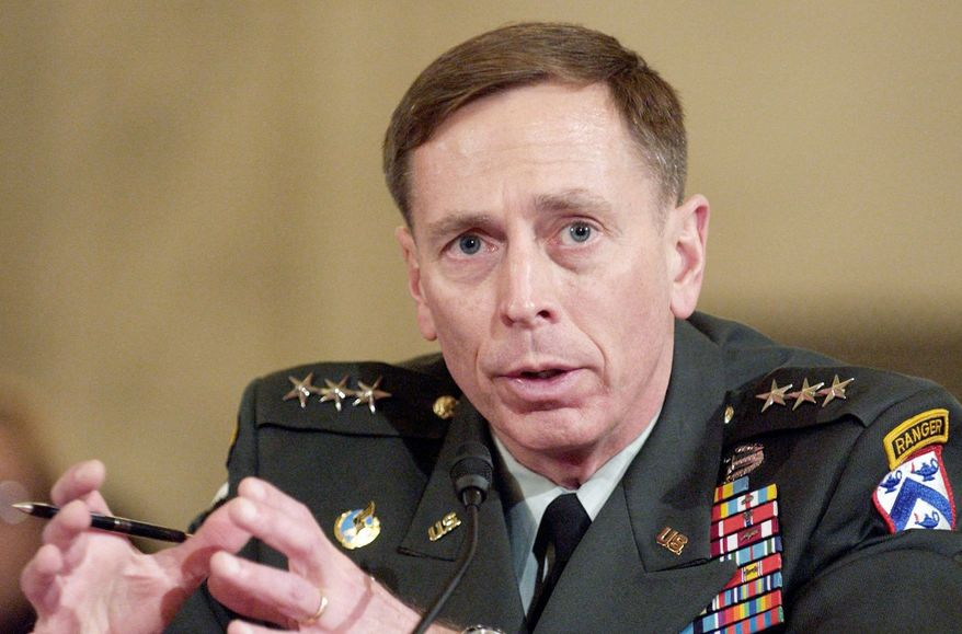 2007: Mr. Petraeus faces the Senate Armed Services Committee for confirmation as the top commander of multinational forces in Iraq. The role elevated him to a modern-day Douglas MacArthur or Dwight D. Eisenhower. (The Washington Times)