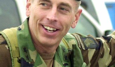 Associated Press 2004: David H. Petraeus transfers 101st Airborne Division command to fellow Maj. Gen. Tom Turner.