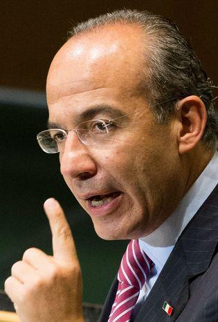 Calderon (AP photo)