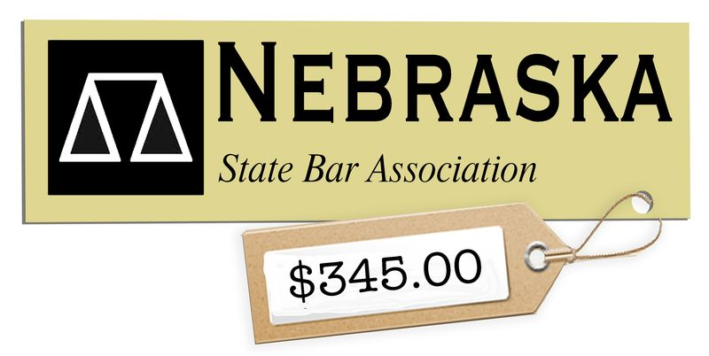 Illustration Nebraska Price Tag by John Camejo for The Washington Times