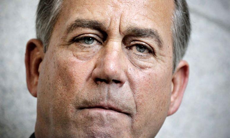 John Boehner/ Associated Press