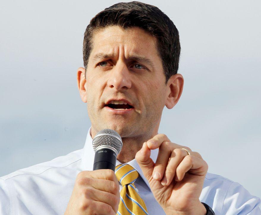 Rep. Paul Ryan (AP Photo)