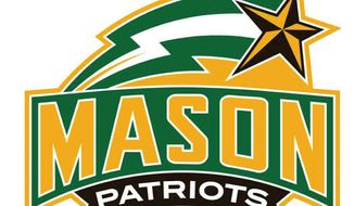 George Mason University athletics logo.