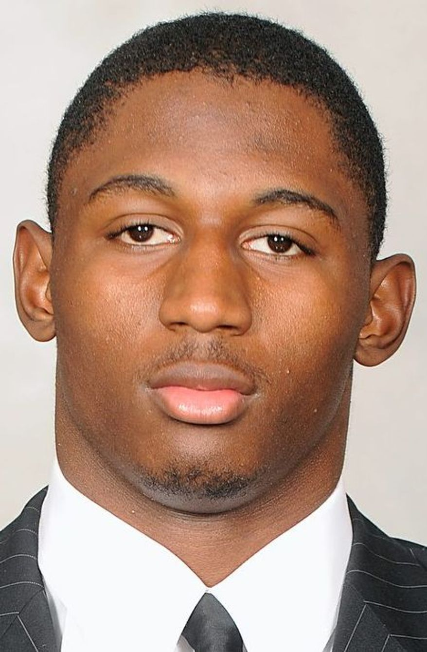 Linebacker Kenneth Tate has 30 tackles and one sack for Maryland. (Maryland Athletics)