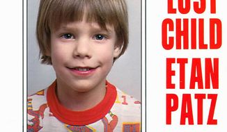 A flier distributed by the New York Police Department depicts Etan Patz, who vanished in New York on May 25, 1979. Pedro Hernandez, 51, suspected in the disappearance, has been indicted on charges of murder and kidnapping, said his attorney, Harvey Fishbein. (Associated Press)