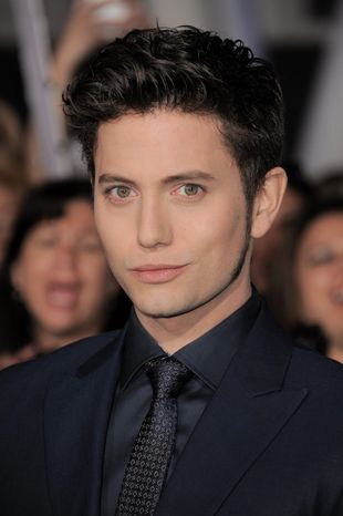 "Jackson Rathbone attends the world premiere of ""The Twilight Saga: Breaking Dawn Part 2"" at the Nokia Theatre on Monday, Nov. 12, 2012, in Los Angeles. (Photo by Jordan Strauss/Invision/AP)"