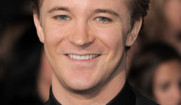 "Michael Welch attends the world premiere of ""The Twilight Saga: Breaking Dawn Part 2"" at the Nokia Theatre on Monday, Nov. 12, 2012, in Los Angeles. (Photo by Jordan Strauss/Invision/AP)"