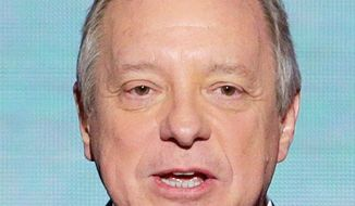"""""""It's an invitation for our side. ... You have to be careful. If you talk about taxes, [Republicans] run for the hills. But if you talk about revenue and tax reform, they sit still for that conversation."""" - Sen. Richard J. Durbin, Illinois Democrat. (Associated Press)"""