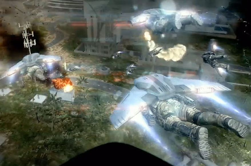 Some high-tech gear from 2025 is used in the miltary shooter Call of Duty: Black Ops 2.
