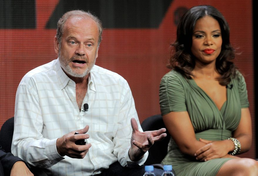 "**FILE** Kelsey Grammer (left) and Sanaa Lathan of Starz television network's ""Boss"" (Associated Press)"