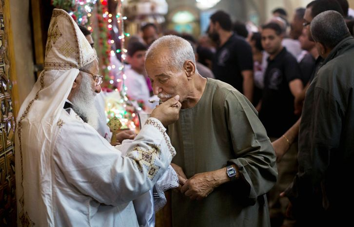 As the Coptic Christian faithful attend Mass, their church is undergoing a major transition: A new pope, Tawadros II, is to be enthroned in Cairo on Sunday, succeeding Shenouda III, the man who led the church for 40 years and was revered by Copts as their protector until his death in March. (Associated Press)