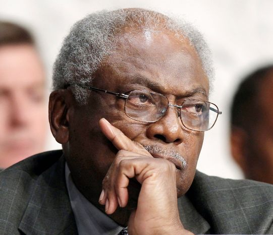 **FILE** Rep. James Clyburn, South Carolina Democrat (Associated Press)
