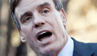 Sen. Mark R. Warner, Virginia Democrat (The Washington Times)