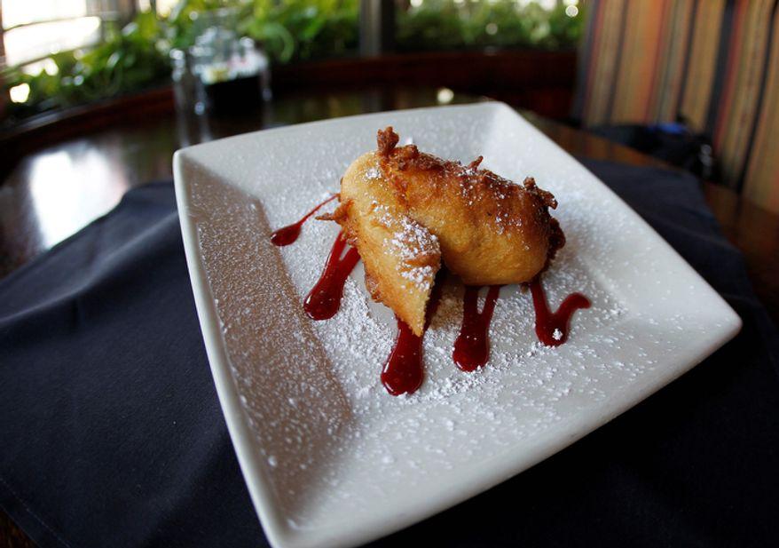 **FILE** A fried Twinkie is shown at ROXX Tavern in Atlanta on Nov. 16, 2012. (Associated Press)