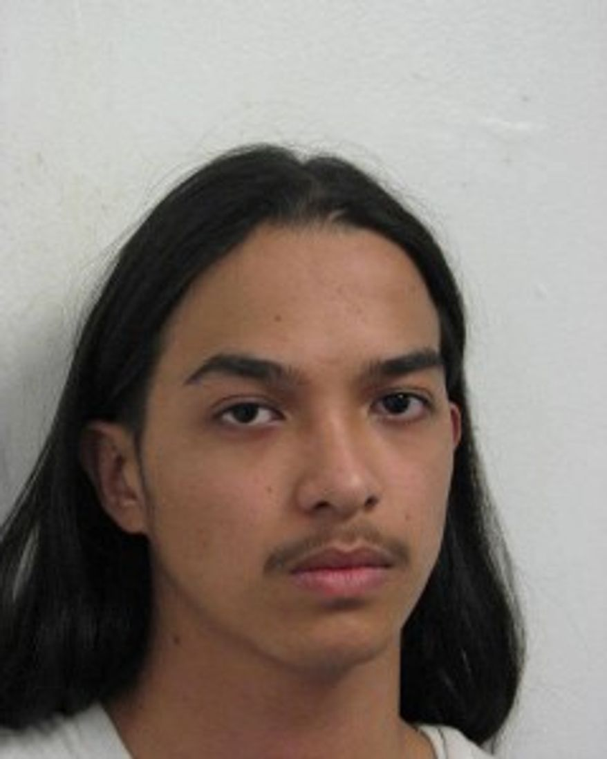 Kevin Reynold Valdez. Photo from the Montgomery County Police Department.