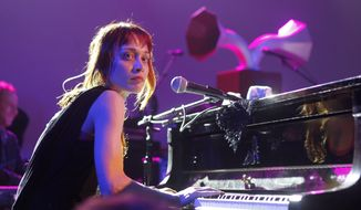**FILE** Fiona Apple performs March 14, 2012, at the NPR showcase during the SXSW Music Festival in Austin, Texas. (Associated Press)