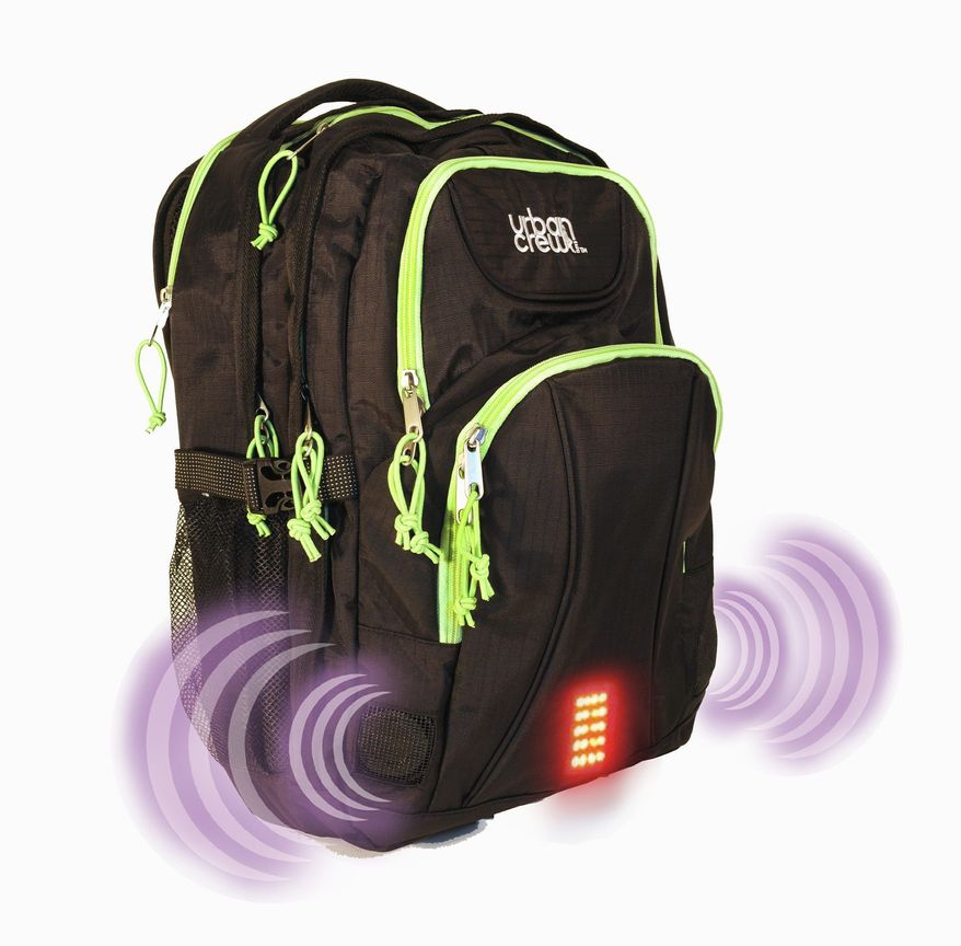 Urban Crew Campus Laptop Backpack (iSafe Bag)