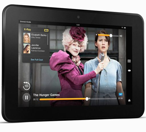 Kindle Fire HD is an e-book reader extraordinaire, a solid media player, and a decent Web browser/email reader. The 7-inch model retails for $199. (Amazon.com)