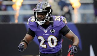 Baltimore free safety Ed Reed was suspended one game by the NFL for illegal hits, but his punishment was changed to a $50,000 fine. (Associated Press)