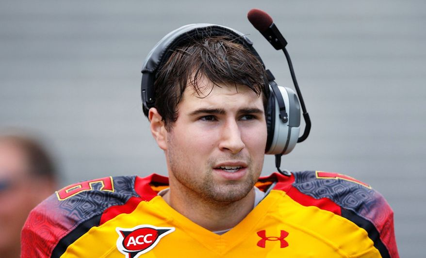 When C.J. Brown tore an ACL in August, it left Maryland without an experienced college quarterback. (Associated Press)