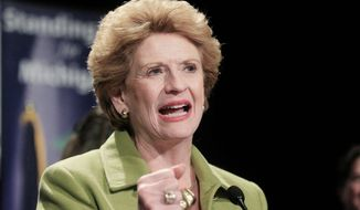 ** FILE ** Sen. Debbie Stabenow, Michigan Democrat. (AP Photo/Carlos Osorio)