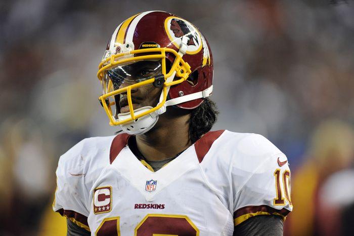 ** FILE ** Washington Redskins quarterback Robert Griffin III (AP Photo/Matt Strasen)