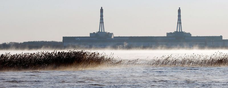 The Ignalina nuclear power plant in Visaginas, Lithuania, was two weeks away from decommissioning when this photo was taken on Dec. 15, 2009. Fuel remains in the reactor core three years later. (Associated Press)